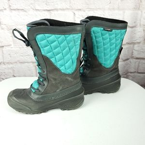 The North Face Thermoball Shellista boots size 4